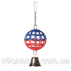 Trixie Lattice Balls шарик с колокольчиком для птиц 7см