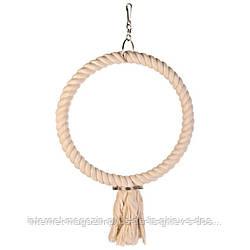 Trixie Rope Ring кольцо веревочное подвесное для птиц 25см