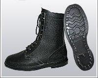Ботинки (берцы) юфтевые ВФ утепленные (Мех) Гвоздевые черные