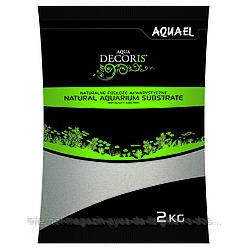 Aquael Aqua Decoris QUARTZ SAND натуральный кварцевый песок 0.4-1.2мм, 2кг
