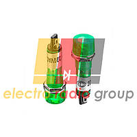 Сигнальная арматура  XD10-3  od=10mm 220VAC   (зеленый)  Daier