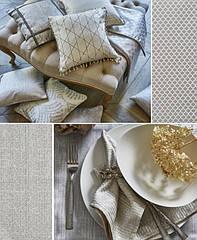 Металлизированный минимализм в текстиле