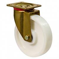 """Колесо серія 45 """"MEDIUM Top"""" поворотне посилене з кріпильною панеллю, кульковий подшип, діаметр-80мм"""