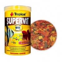 Tropical SUPERVIT основной хлопьевидный корм для всех видов рыб, 500мл