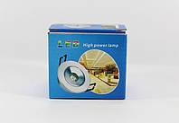Светодиодная лед - лампа LED LAMP 3W врезная круглая точечная 1401