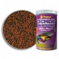 Tropical Cichlid Omnivore Small Pellet пеллеты для молодых и средних всеядных цихлид, 1л