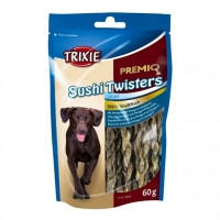 Тrixie PREMIO Sushi Twisters лакомство для собак с белой рыбой, 60г