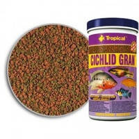 Tropical Cichlid Gran гранулы для цихлид для яркой окраски, 250мл