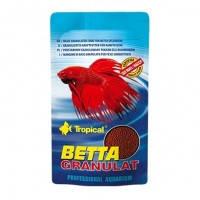 Tropical BETTA GRANULAT основной корм в виде гранул для петушков, 10г