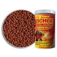 Tropical Cichlid Carnivore Medium Pellet пеллеты для средних и крупных плотоядных цихлид, 1л