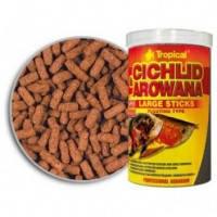 Tropical Cichlid & Arowana Large Sticks палочки для крупных цихлид и взрослых арован, 1л
