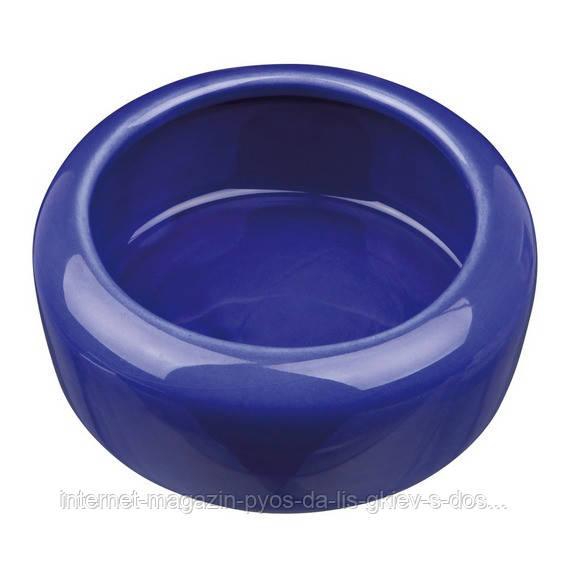 Trixie Ceramic Bowl миска керамическая для грызунов 400мл/13см
