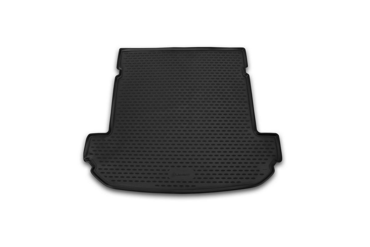 Коврик в багажник для Kia Sorento 2015-> внед. 7 мест длин. 1 шт. (полиуретан)  CARKia00006