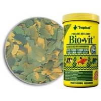 Tropical BIO-VIT основной растительный корм в виде хлопьев для рыб, 1л