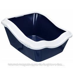 Trixie Cleany Cat Litter Tray глубокий туалет для кошек темно-синий 54х45х21см