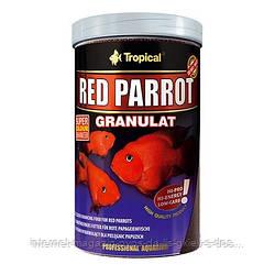 Tropical RED PARROT GRANULAT корм красящий гранулят для цихлид-попугаев, 250мл