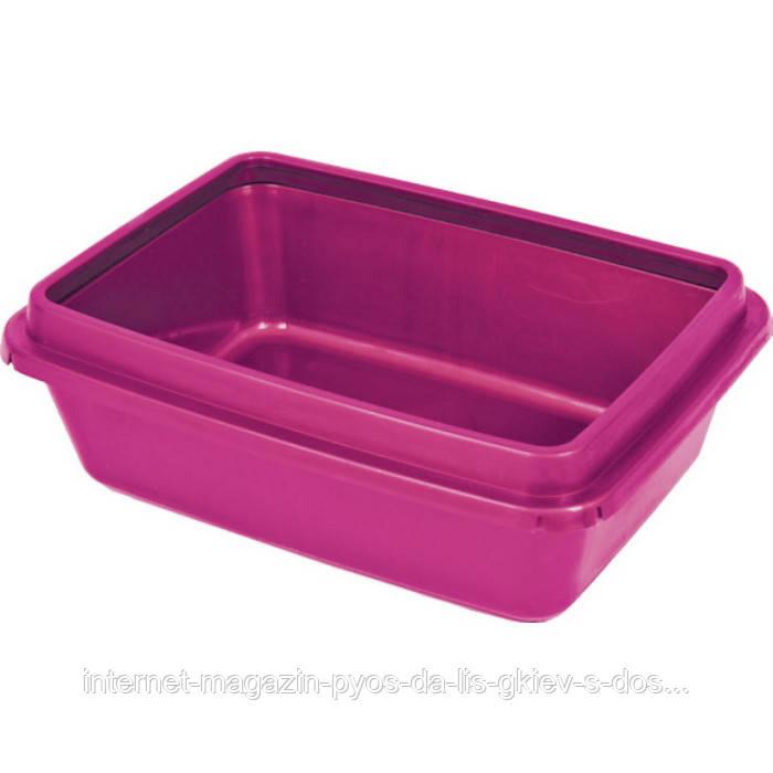 Туалет з рамкою Маркіз для котів ТМ Природа 42,5х31,5х13см