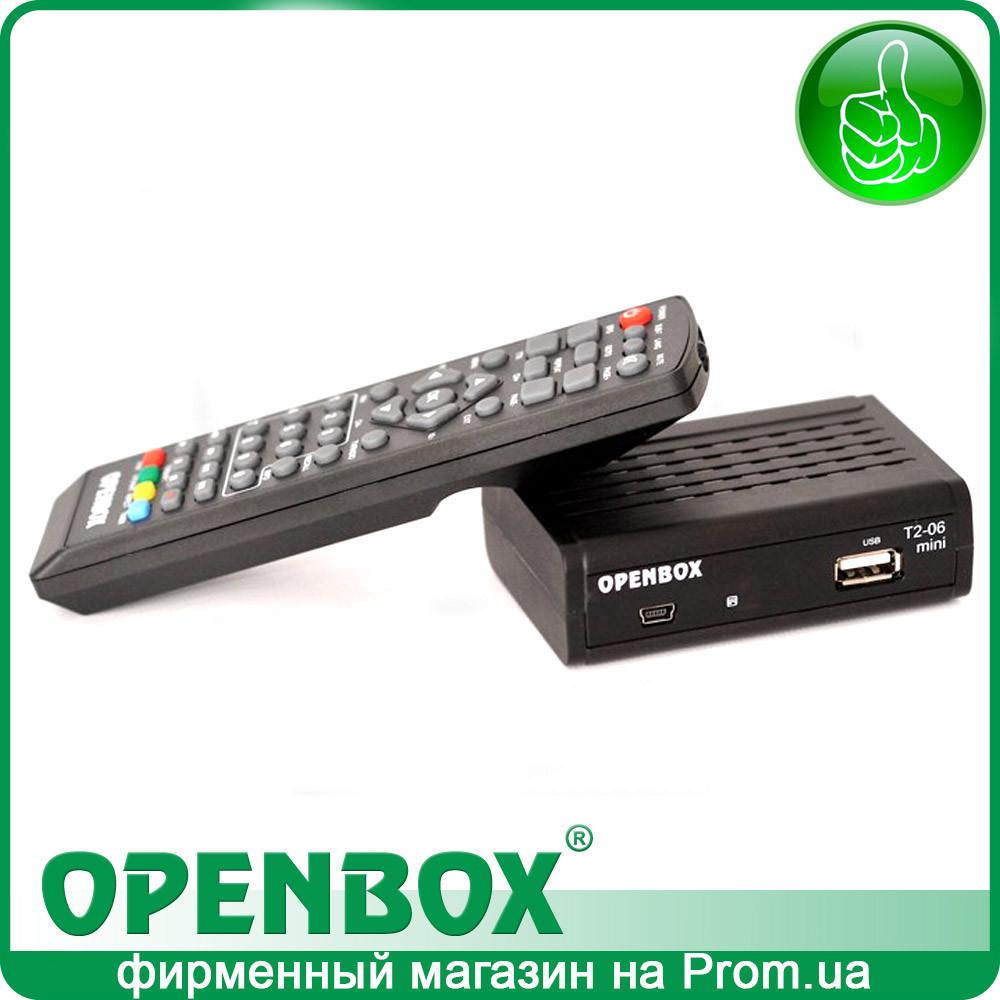 Эфирный цифровой DVB-T2 ресивер Openbox T2-06 Mini