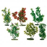 Trixie растение искусственное с основой из пластика, 17см (6 штук)