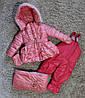 Комбинезон для девочки, зимний ,мешок,мех под овчину