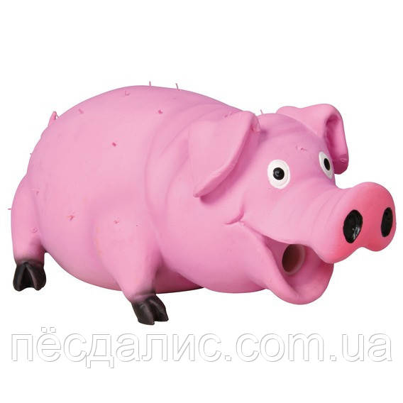 Тrixie Bristle Pig Latex поросенок, 21см