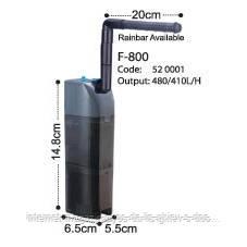 KW Dophin F-800 внутренний фильтр