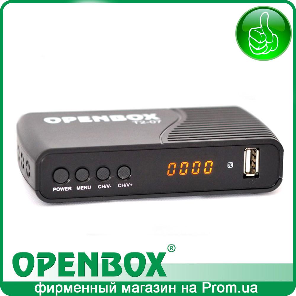 Эфирный цифровой DVB-T2 ресивер Openbox T2-07