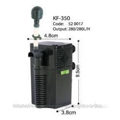 KW Dophin KF-350 внутренний фильтр