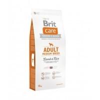 Brit Care Adult Medium Breed Lamb and Rice корм для собак середніх порід з ягням і рисом, 12кг