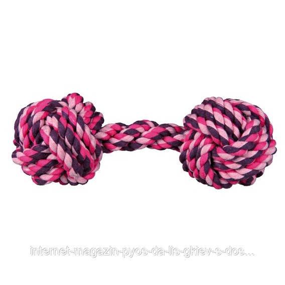 Тrixie Denta Fun Rope Dumbbell веревочная гантель, 20см