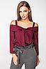 Блуза с открытыми плечами (Арт. 2164), фото 3