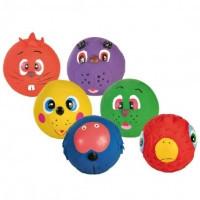 Тrixie Assortment Faces Toy Balls Latex мячик Лица 6см