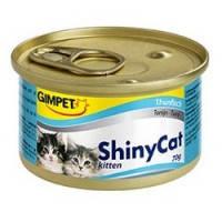 Gimpet ShinyCat Kitten Tuna влажный корм для котят с тунцом, 70гр