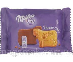 Печенье Milka в шоколадной глазури, 40 г