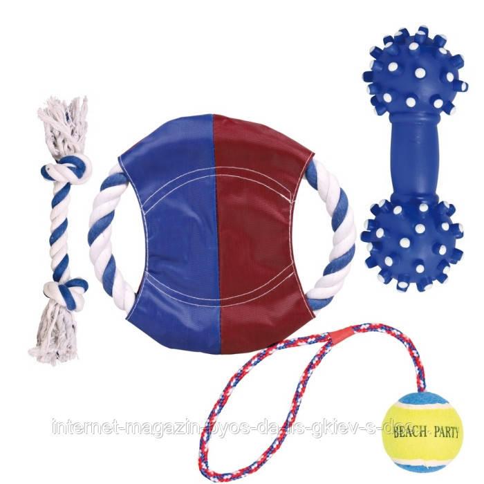Trixie Sun n Fun Toy Set набор игрушек для собаки, 4шт