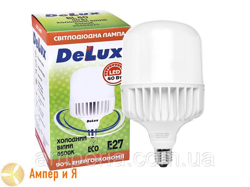 Лампа светодиодная BL 80 40w E27 6500K DELUX