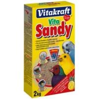 Vitakraft Bio Sand песок для птиц с минералами, 2кг