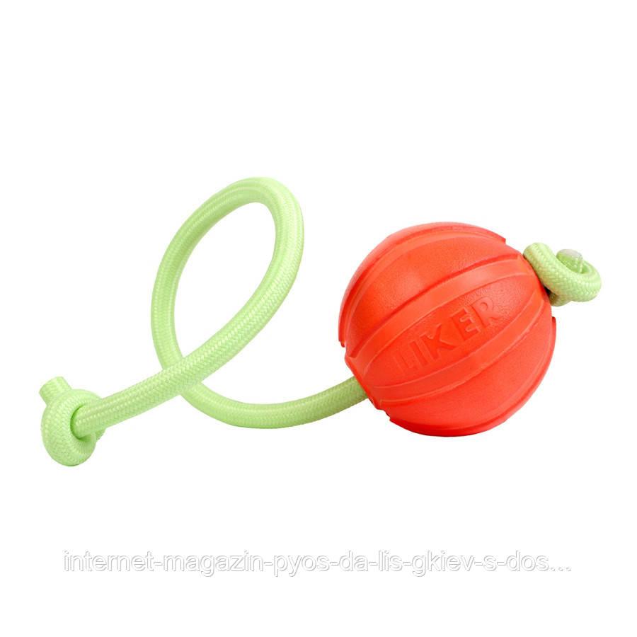 Collar Liker Lumi 9 м'яч-іграшка на светонакопительном шнурі для собак великих порід, 9х30см
