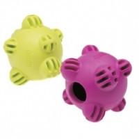 Aquael Comfy Snacky Ball мяч-кормушка для собак фиолетовый, 8.5см
