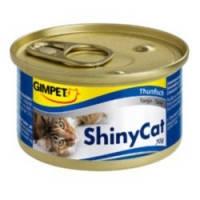 Gimpet ShinyCat Tuna влажный корм для кошек с тунцом, 70гр