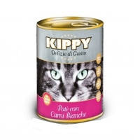 KIPPY консервированный корм для кошек с белым мясом (паштет), 100г