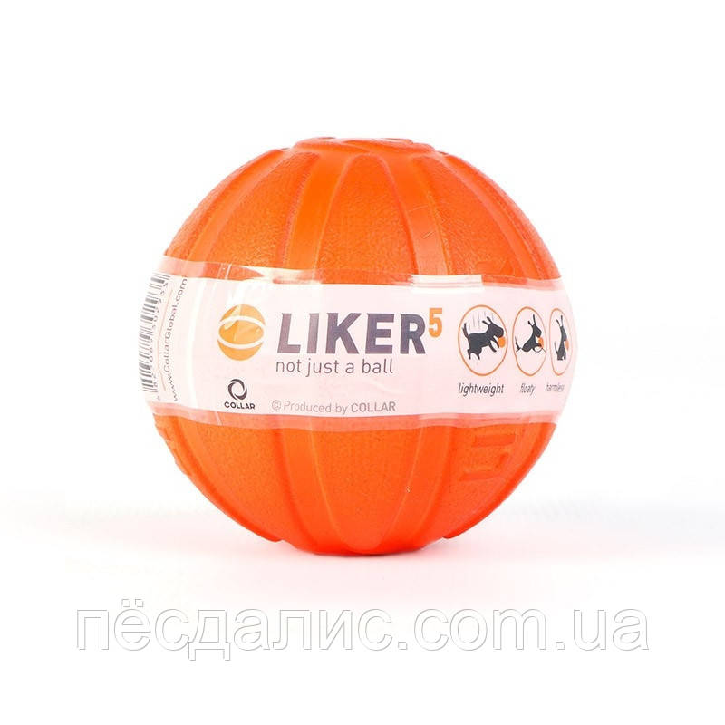 Collar Liker 5 мяч-игрушка для щенков и собак мелких пород, 5см