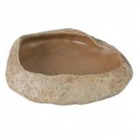 Trixie поилка миска для рептилий Степной камень 11×2,5×7см