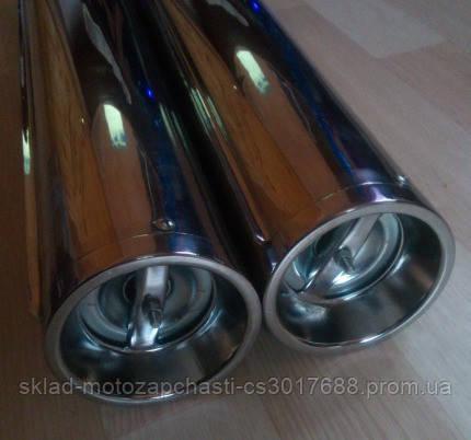 Глушитель (выхлопные трубы) Ява-350