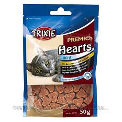 Trixie PREMIO Hearts лакомство-сердечки для котов, 50г