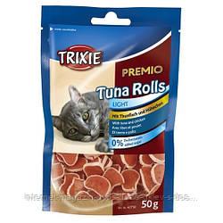 Trixie PREMIO Tuna Rolls лакомство-роллы с тунцом для котов, 50г