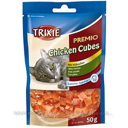 Trixie PREMIO Chicken Cubes лакомство-кубики с курицей для котов, 50г