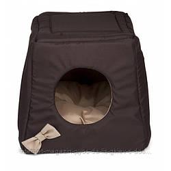 Aquael Comfy Triple House дом - лежак для кошек и собак, 43х43х49 см