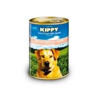 KIPPY консервированный корм для собак с ягненком, лососем и морковью (паштет), 400г