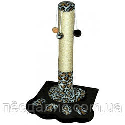 Когтеточка-столбик Лапка для кошек ТМ Природа 67 см с игрушками